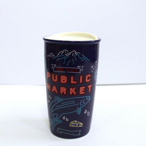 Starbucks Seattle Pike Place Public Market Tumbler